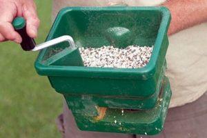 Manual Fertiliser Spreader for your lawn
