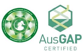 Lawn Solutions Australia AusGAP Certified