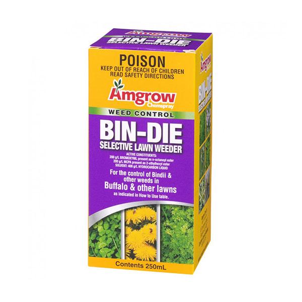 Amgrow Bin-Die Selective Lawn Weeder – 250ml
